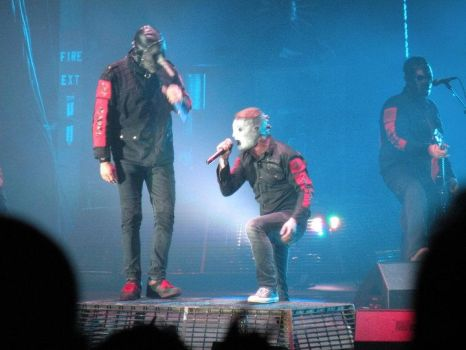 Corey Taylor And Chris Fehn by palm-tree-envy