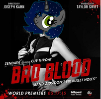 Melody as Cut-throat from Bad Blood XD by BronyCrafterQueen