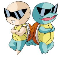 Pokekids -- Squirtle by Digital-Twilight