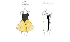 Band Geek Prom Dresses 7 by theghostlyartist