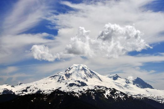 Mount Baker from Church Mtn by greglief
