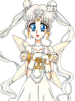 Neo Queen Serenity - Crystal Version by Cherryblossomfang
