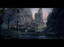 landscape by Guang-Yang