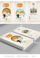 Business Card: Pixelfish Concept by ceesevenmarzartworks