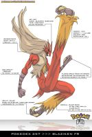 Pokedex 257 - Blaziken FR by Pokemon-FR
