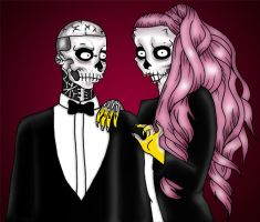 Gaga and Rick by orl-graphics