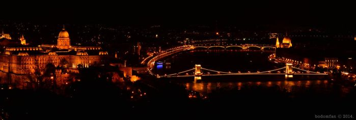 Budapest at night by bodomfan1986