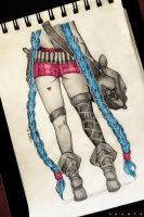 Jinx from League of Legends by SHANTA-art