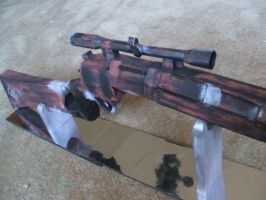 Boba Fett Blaster Rifle  -2 by Allhallowseve31
