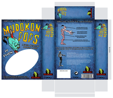Mudokon Pops packaging by zimmii