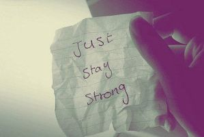 be strong.. by nItzZa