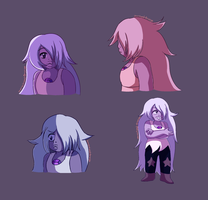 Amethyst Fanart by Stereotyped-Orange