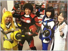 Akibaranger, hope for a second season? by gao-Accel