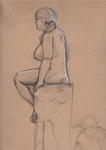 Figure drawing practice by Cruxia