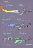 GunBlade Revolution by MoonLightSpectre