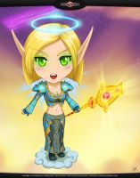 Wow Fanart: Blood Elf Kyru by mizukoiuchi