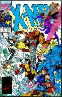 90's X-Men 3 Cover RECOLOR by bahumit12