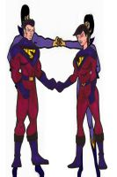 The new Wonder Twins by RWhitney75