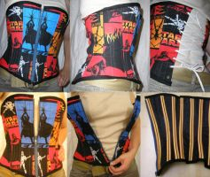 Star Wars Corset by OLIVESELKIE