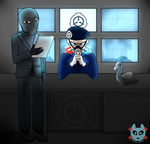 Scp office [Commission] by lessy652