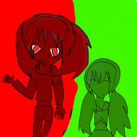 Bloodly red and green by JedahDohmaPC