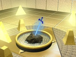 Triforce Chamber by ranma