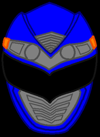 15. Power Rangers Operation Overdrive - Blue by PowerRangersWorld999