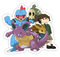 Pokemon Sticker - Team Hero by spot1the2dog3