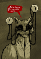 Le Chat Demoniaque by ThePsychoGoat