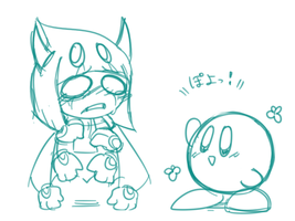Taranza and Kirby by rino563
