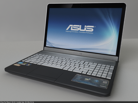 My Current Laptop by aleg8r
