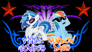-request- DJ and Dash by ThaddeusC