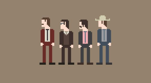 Anchorman 8-Bit by Al-Pennyworth