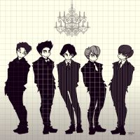 SHINee Your Number by Pulimcartoon