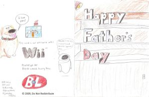 Father's Day card by Dogman15