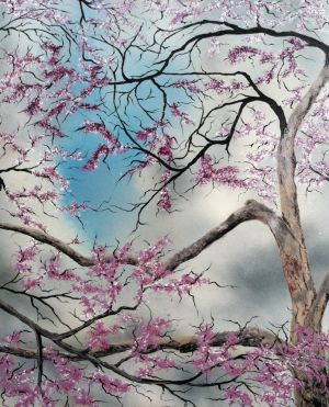 Redbud Before the Storm by molecularart