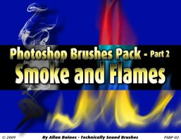 Smoke and Flames Brushes by YesOwl