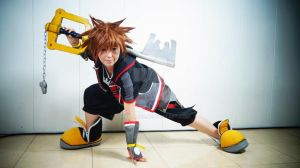 Sora Kingdom Hearts III by 0Sora-kun0