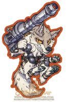 Lock And Load Sticker by The-SixthLeafClover