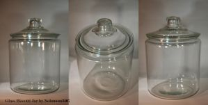 Glass Biscotti Jar by Nolamom3507