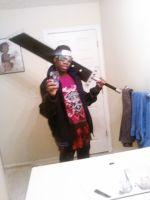 Me i was bored and yes Im a fan of Big Swords by olightsword
