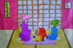 The Japanese Tea Ceremony by shnoogums5060