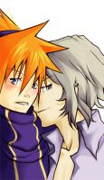 Joshua and Neku by Neko6