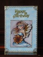 Beths Blue Fairy Card by blackrose1959