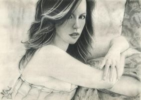 Kate Beckinsale by DannyLovesArt