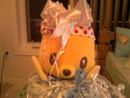 Diaper Cake POOH by carmietee