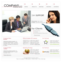Company Template 4 by TomLeeman