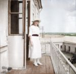 Anastasia in 1916 ~ colored photo by natsafan