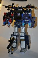 G1 Masterpiece Soundwave by JesseSaphir