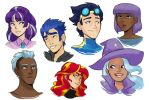 Human!Side Character Headshots by kilala97
